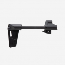 Extended Magpul BSL HK94/MP5 Arm Brace showing forearm support and mounting trunion