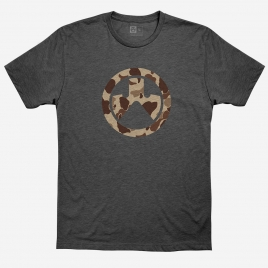 Magpul Raider Camo Icon Cotton T-Shirt with a large Magpul logo on the chest in the classic Raider Camo colors