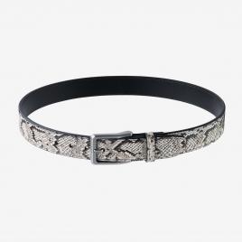 "Magpul Tejas Gun Belt – ""El Original"" Python showing unique python pattern, black polymer liner, and custom buckle"