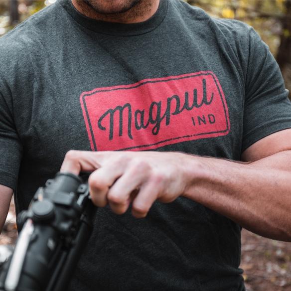 Magpul 122144 Rover Block Megablend Large Royal Heather T-Shirt