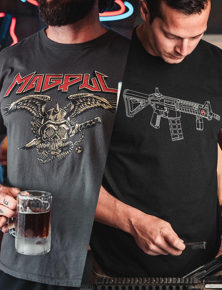 Magpul Heavy Metal and Blueprint Tees