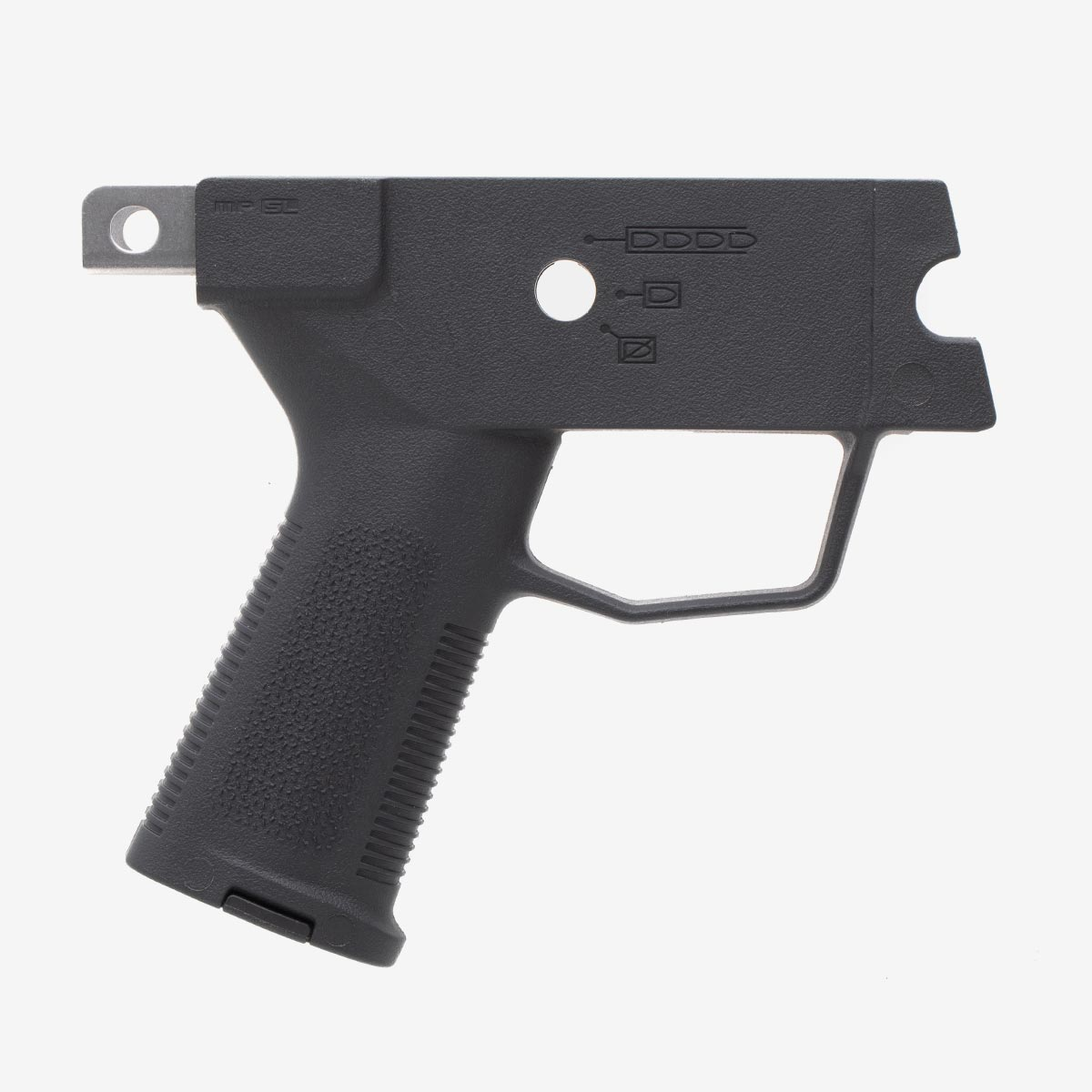 Right side view of Magpul SL Grip Module for HK showing optimized grip angle and TSP texture