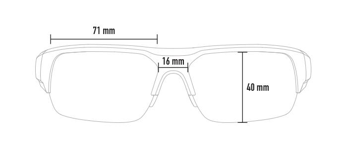 Magpul Helix dimensions, front