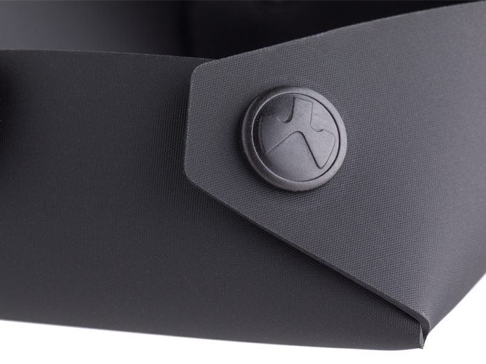 Large Magpul DAKA Magnetic Field Tray detailed view of material and logoed snap