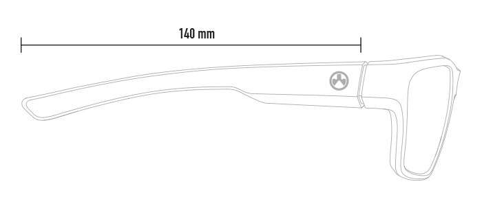 Magpul Pivot dimensions, from side