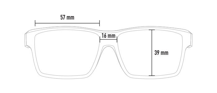 Magpul Explorer dimensions, front