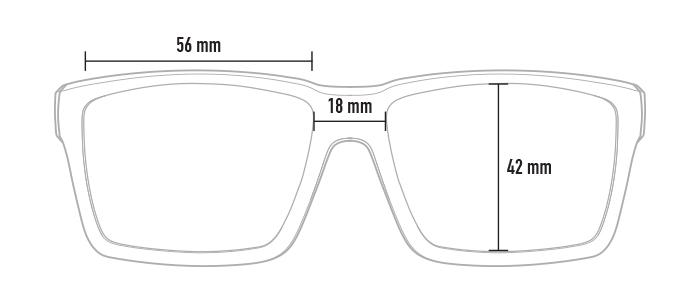 Magpul Explorer XL dimensions, front