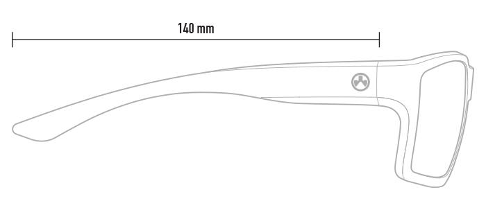 Magpul Explorer XL dimensions, profile