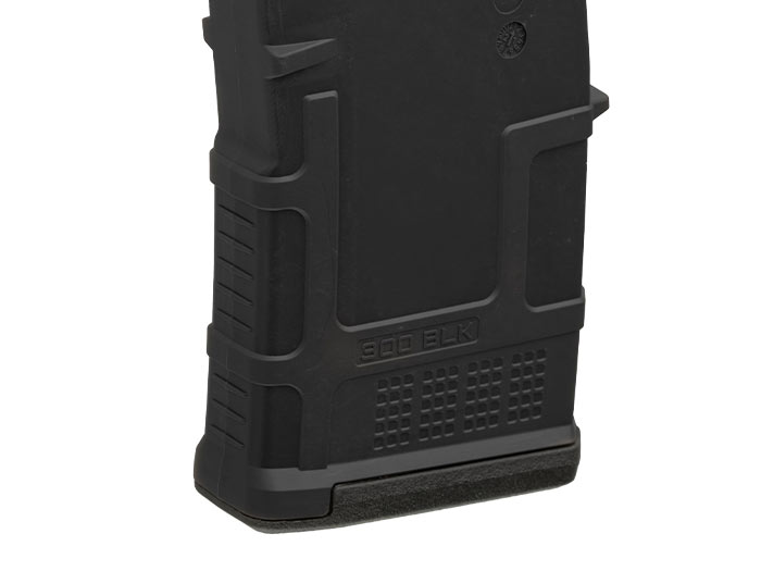 Magpul PMAG 20 AR 300 B GEN M3 with distinct rib design and texture provide to differentiation from other PMAGs