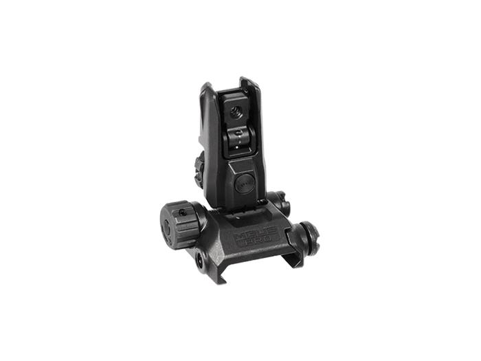 MAGPUL INDUSTRIES Mag527 Mbus Pro Lr Adjustable Rear Sight,Black