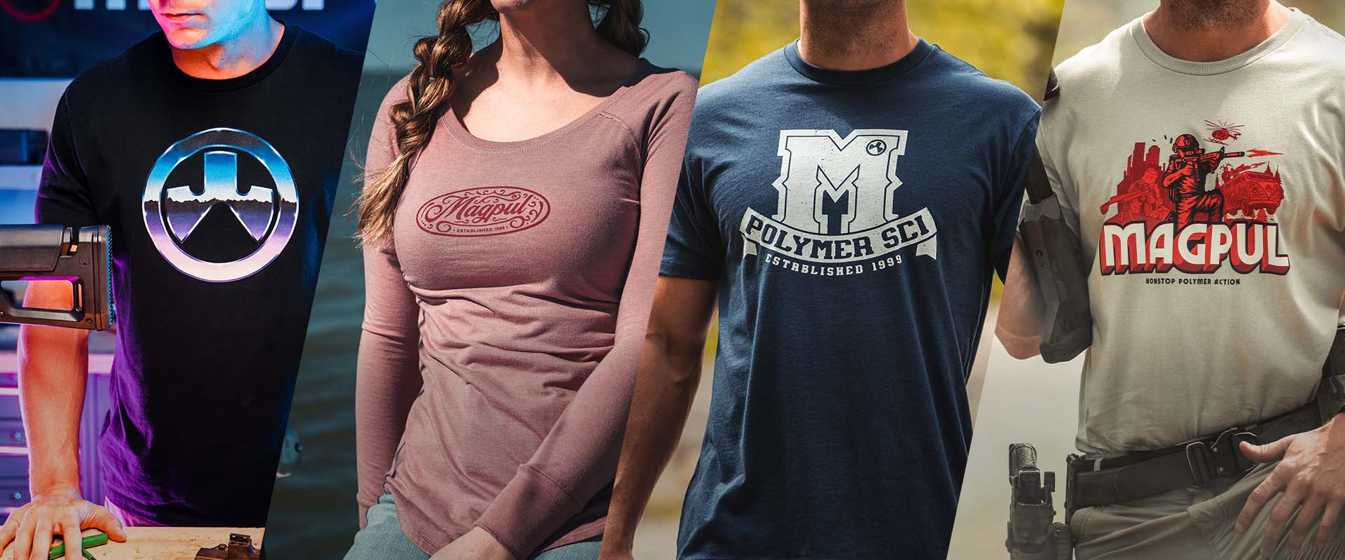 A multitude of new Magpul Tees